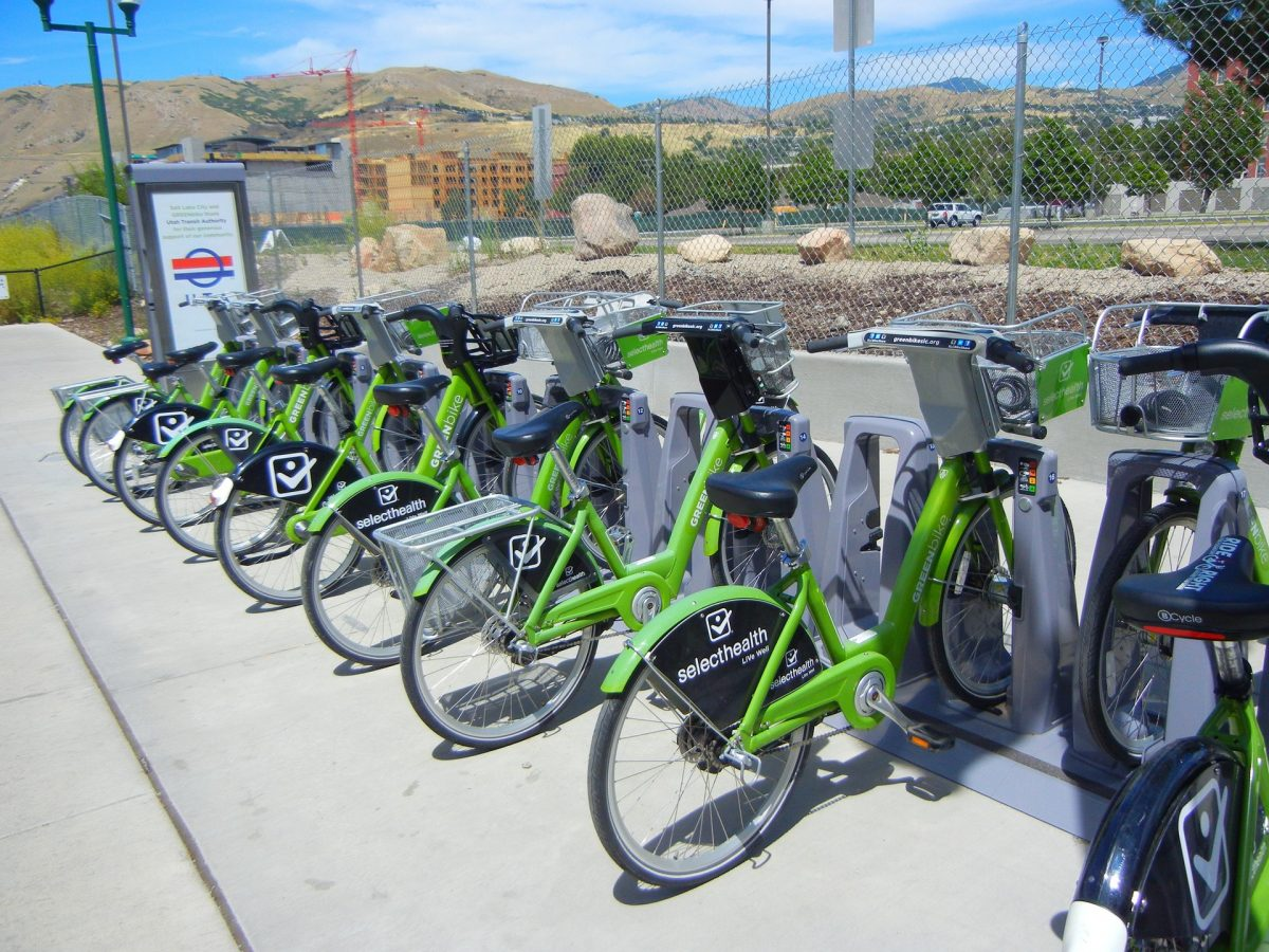 Things to do in Salt Lake city- bike rental